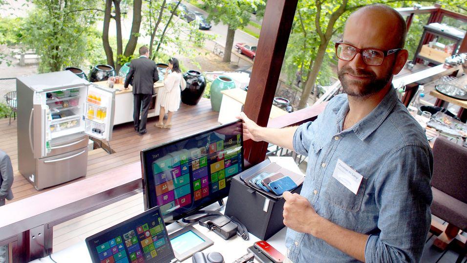 Christian de Lange i Samsung Norge.
