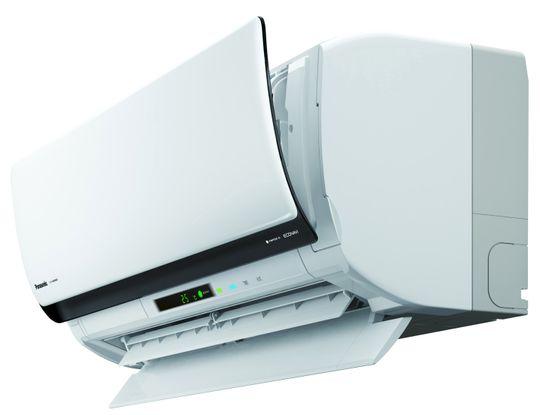 Slik ser Panasonics nye smart-varmepumpe ut.
