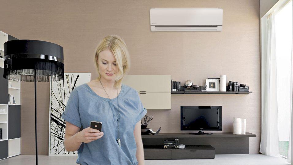 Heretter er det app-styrte varmepumper som er greia.