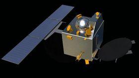 Slik ser den indiske Mars-satellitten ut.
