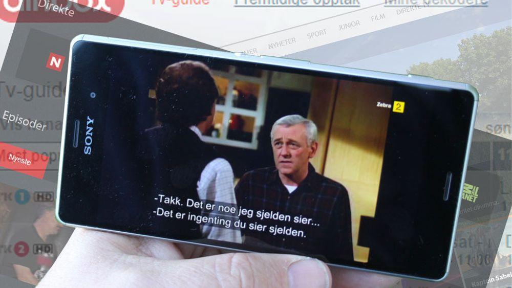 GUIDE: Slik tar du TV-signalene med deg på mobilen