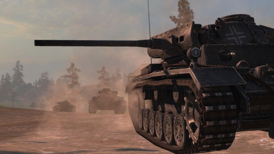 Tyske Panzer III.