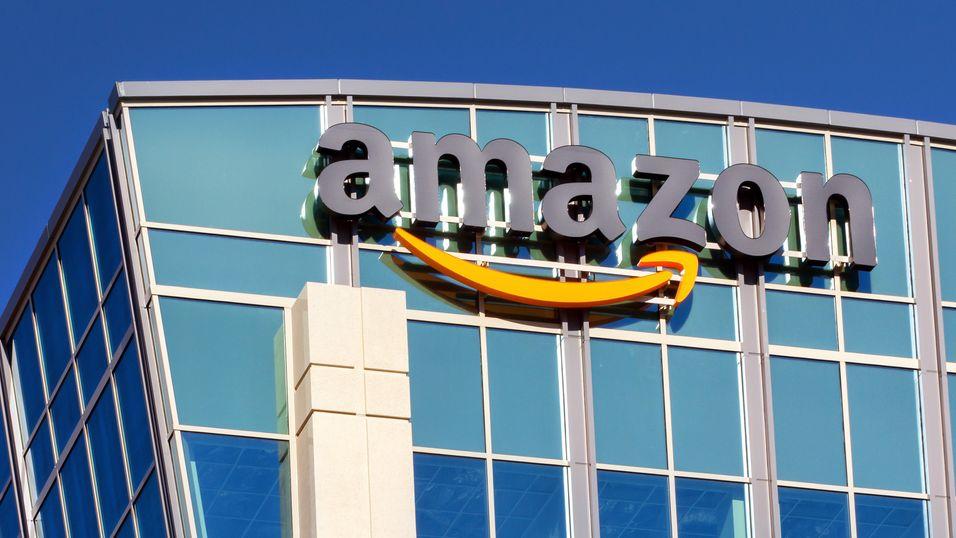 Amazons kontorbygning i Santa Clara i California.