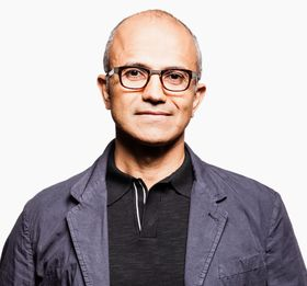 Den nye Microsoft-sjefen Satya Nadella har ikke ville sagt noe om hva navnet vil være. .