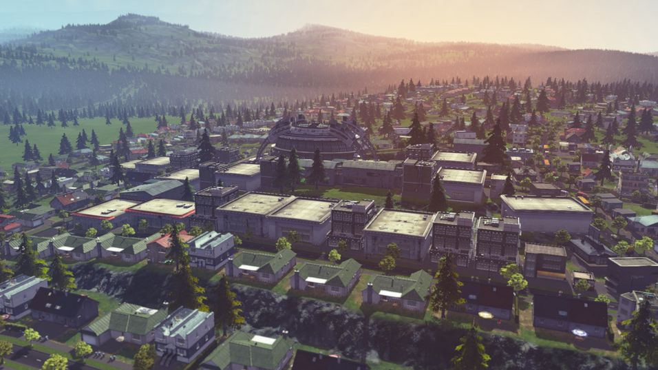 Kloakkfosser og veibygging i Cities: Skylines