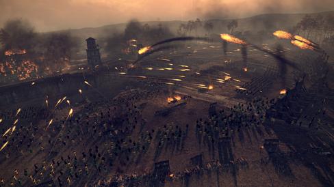 Krig og død i Total War: Attila.