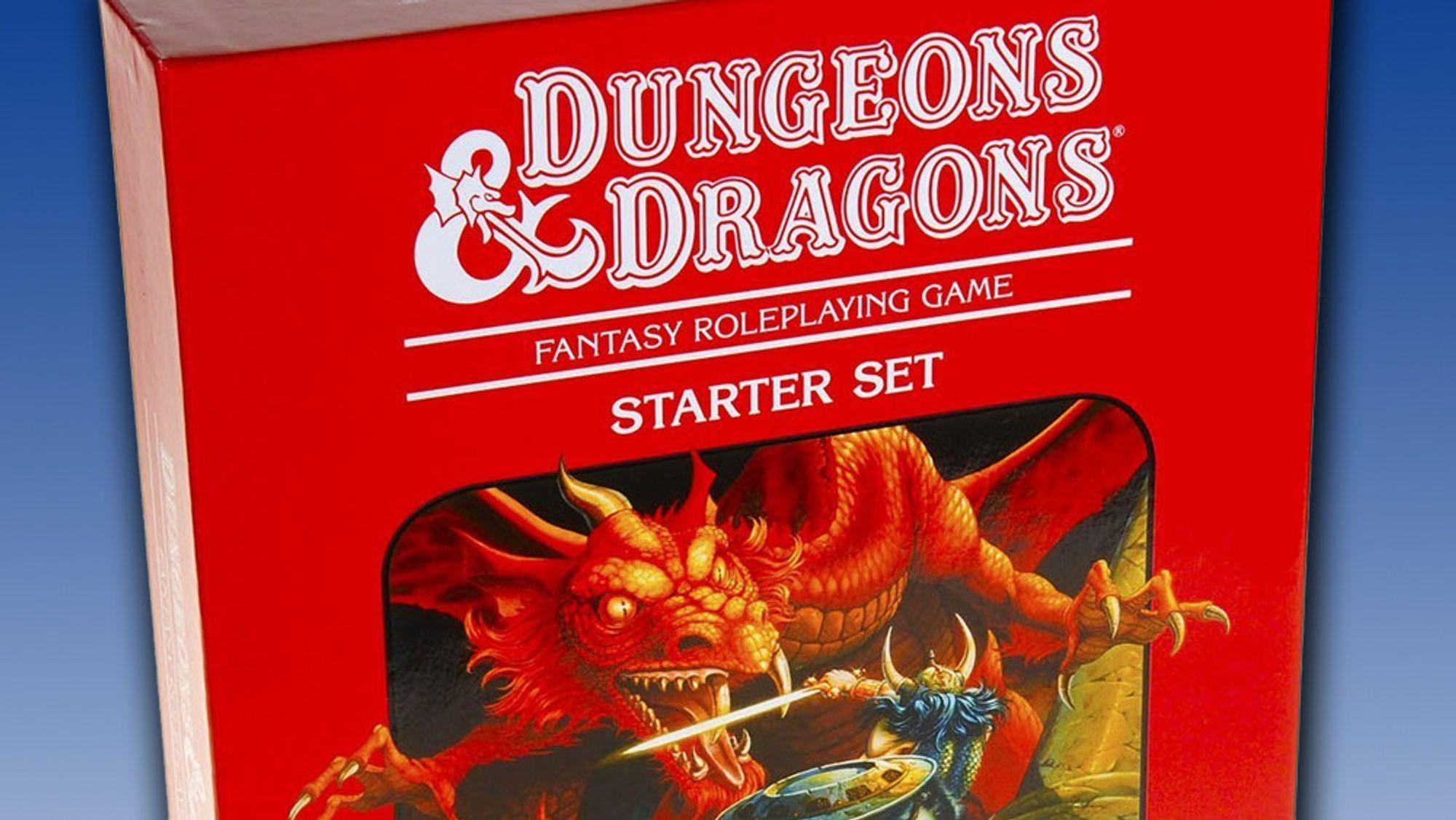 Den ikoniske røde boksen til Dungeons & Dragons ble inngangsporten til spillet for svært mange på 80-tallet.