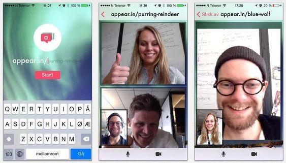 Appear.in er en enkel og genial konferansløsning som fungerer utmerket på tvers av alle plattformer.