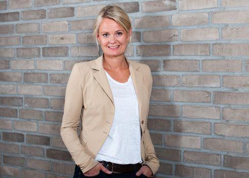Sjef for digitale tjenester, Ingjerd Blekeli Spiten, i DNB.