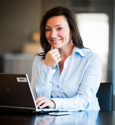 Kommunikasjonsdirektør Kristin Nøkleby Holth i Storebrand.