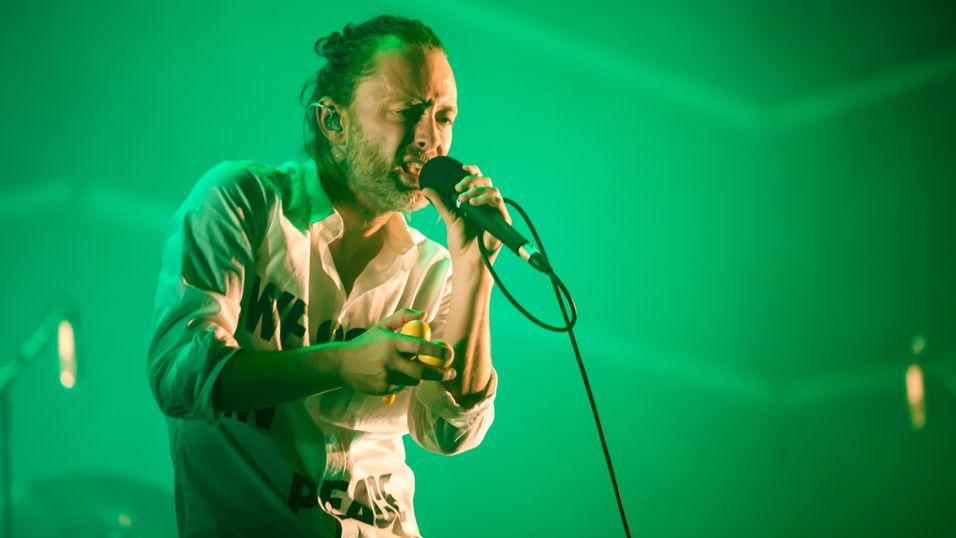 Thom Yorke.
