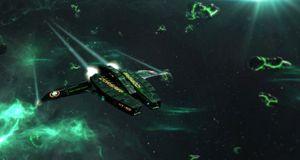 Driv handel eller piratvirksomhet i et åpent solsystem