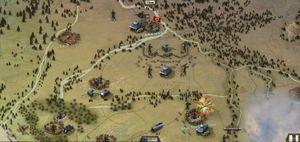 Heksagoner er en nødvendighet i et skikkelig strategispill. (bilde: Slitherine / Matrix Games).
