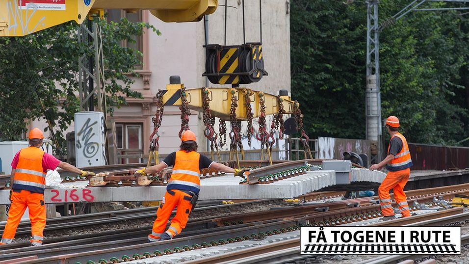 Norsk jernbane er i knestående – men redningen er på vei