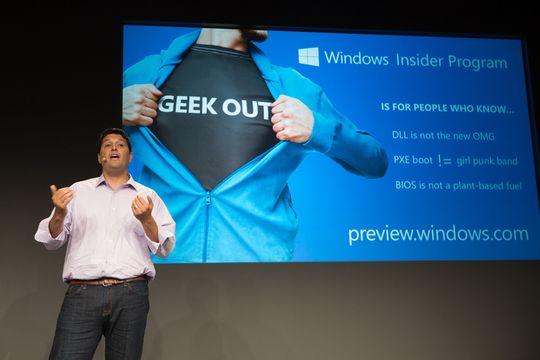 Microsoft skal bruke ett år på å sanke tilbakemeldinger og finpolere Windows 10, før den endelige lanseringen.