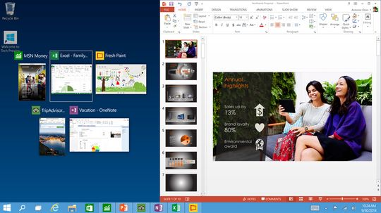 I Windows 10 kjører apper på samme måte som programmer, og de kan festes lettere enn før.