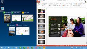 Snap-funksjonen har blitt mye bedre i Windows 10.
