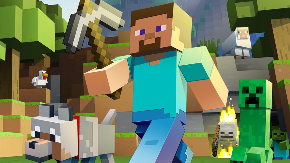 Minecraft: Xbox One Edition til butikk