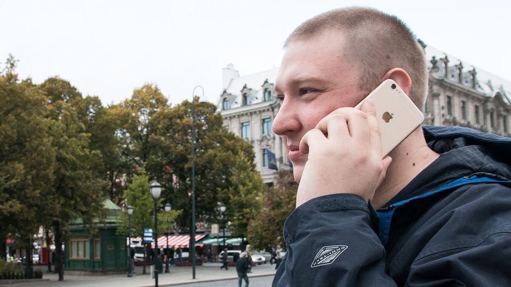 Vil politianmelde om noen bøyer iPhone i butikken