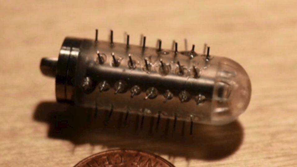 Denne pillen er utstyrt med små sprøytespisser