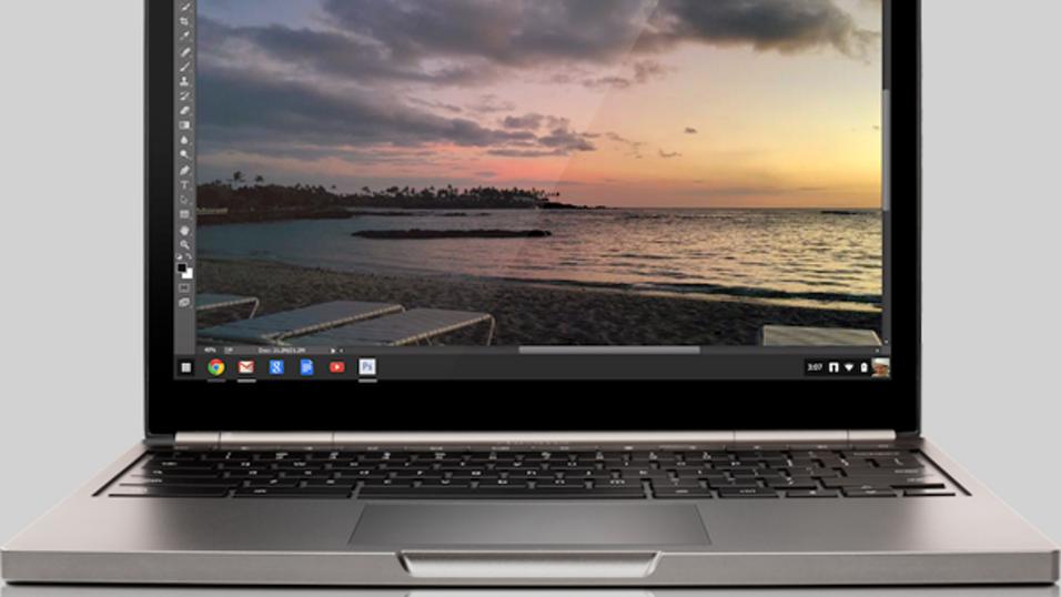 Nå får Chromebook endelig støtte for Photoshop