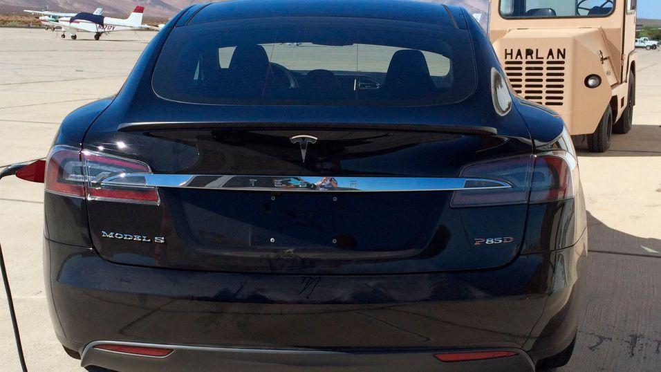 Dette er trolig Teslas nye modell