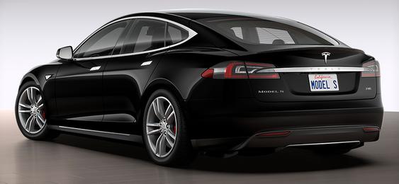 Slik ser forøvrig dagens Model S P85 ut.