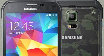 Dette er tøffingversjonen av Samsung Galaxy S5