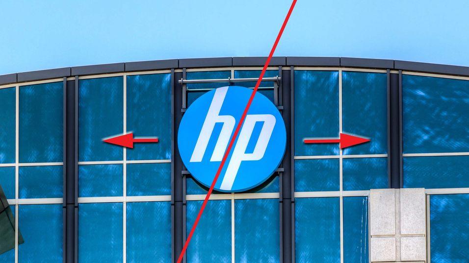 HP splittes opp i to selskaper