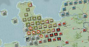 War in the West byr på tung strategi satt til andre verdenskrig