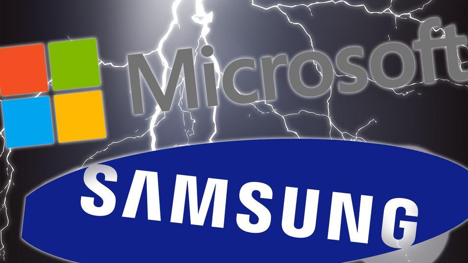 Microsoft tjente 1 milliard dollar på Android-patenter bare fra Samsung