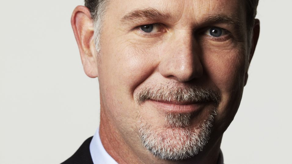 Netflix-sjefen Reed Hastings.
