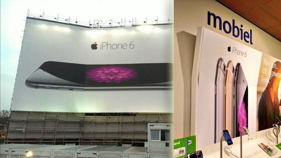 Se de komiske iPhone 6-plakatene