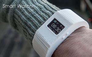 Med litt ekstra innsats kan du også få deg et spesialdesignet armbånd til smartklokken. Eller hva med å 3D-printe ditt helt eget armbånd?