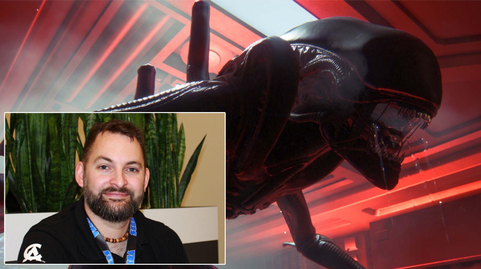 Gary Napper er seniordesigner på Alien: Isolation.
