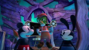 Epic Mickey-spillene var med å gjenintrodusere den tidlige Disney-figuren Oswald. (bilde: Disney Interactive).