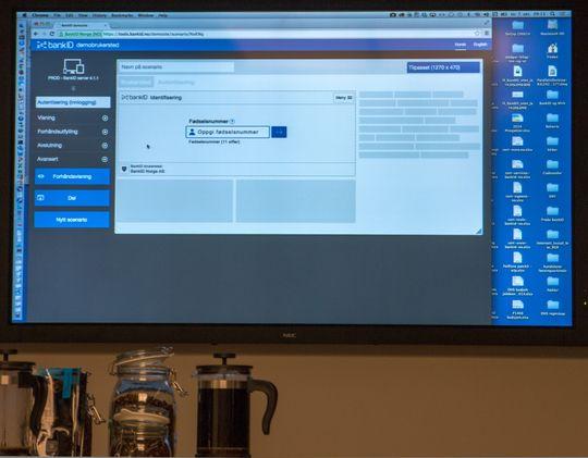 BankID Norge laget en egen pilot-utgave av BankID 2.0 for å sjekke hvordan den ble vist på ulike plattformer som nettbrett og mobiler.