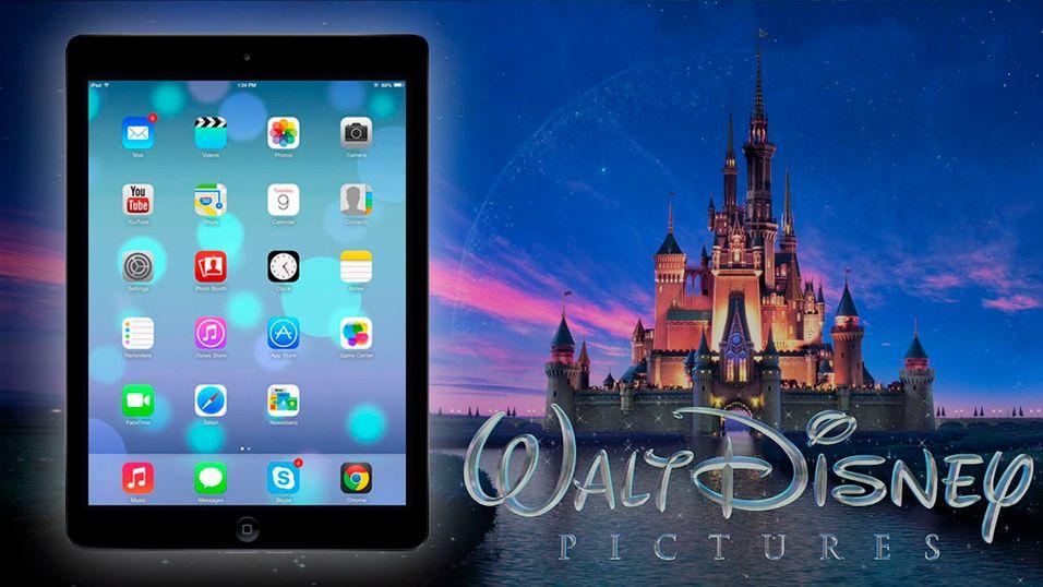 Barn liker iPad bedre enn Disney