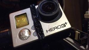 GoPro-kameraet taklet ikke den ekstreme varmen, og kom ikke tilbake i sin opprinnelige form.