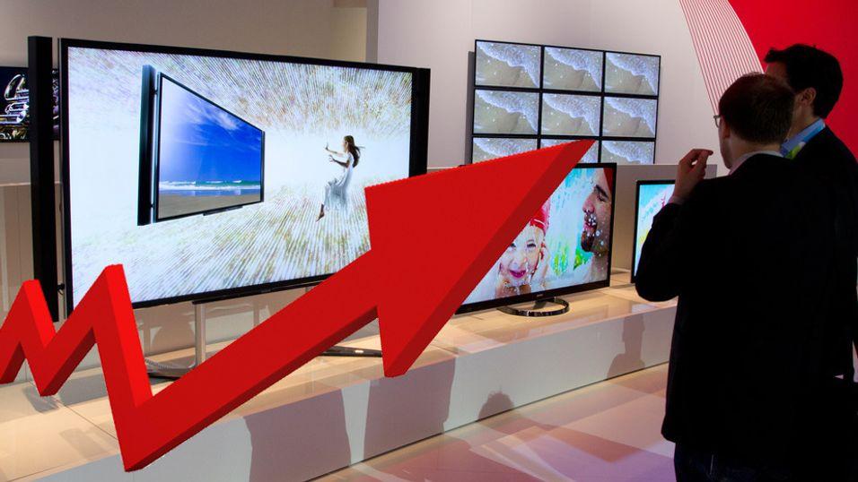 TV-salget går godt i Norge, det forteller Marte Ottemo i Elektronikkbransjen.
