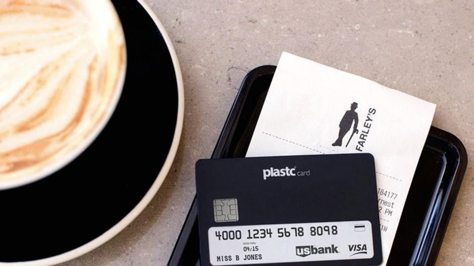 Du kan bruke Plastc til det meste. Som for eksempel å betale kaffen.