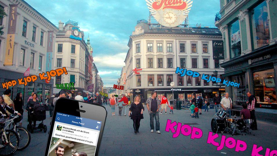 Nå vil Facebook-reklamen følge deg rundt
