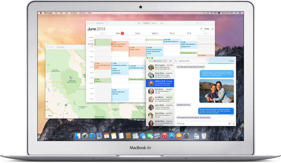 OS X Yosemite.