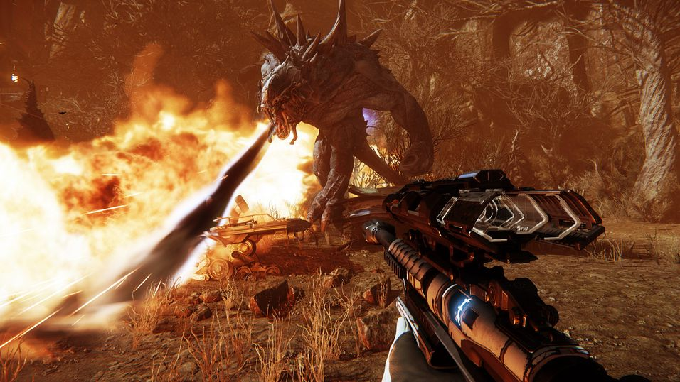 Snart kan du teste monsterspillet Evolve