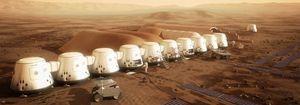 Mars One vil sette opp mange små moduler på Mars som starten på prosjektet, for deretter å bygge ut.
