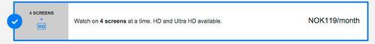 Nå har Netflix inkludert 4K-tilbudet i det som tidligere ble omtalt som «familiepakken».