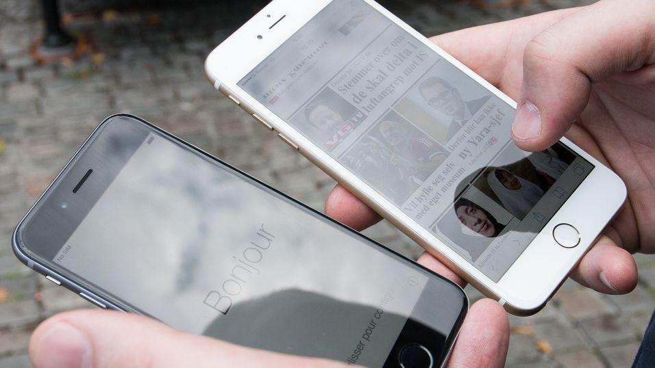 De nye iPhone-ene har vanlig herdet glass over skjermene, til tross for mange spekulasjoner om at de ville få safirglass. Samtidig har safirglassleverandøren GT Advanced Technologies gått overende, og bedt om konkursbeskyttelse.