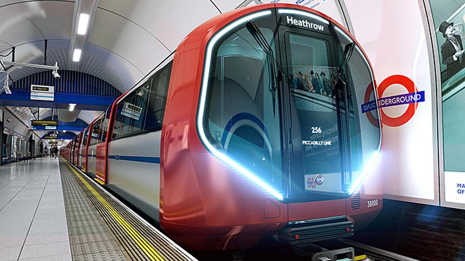 Her er Londons futuristiske undergrunnstog