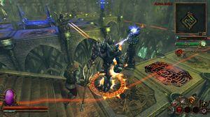 Deathtrap blander actionrollespill og tårnforsvar. (bilde: Neocore Games).