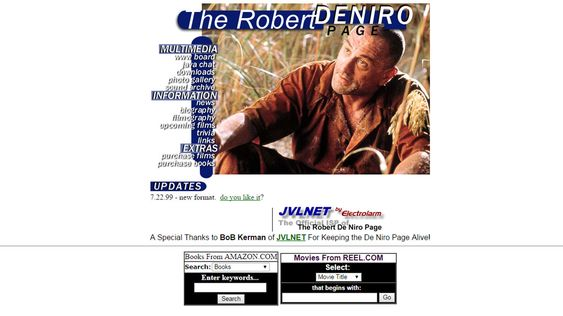 The Robert De Niro Page.